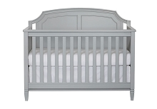 SuiteBebe Astoria Lifetime Crib in Grey