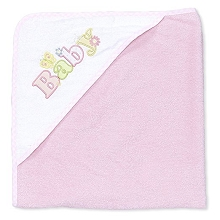 Spasilk  Hooded Towel Pink