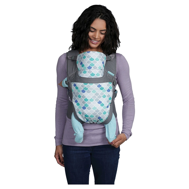 Infantino Gather Practical Wrap Buckle Carrier Scallops Ideal Baby
