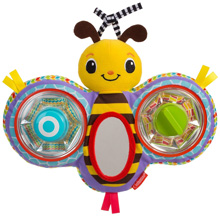 Infantino Squeak & Peek Bumble Bee Mirror Pal™