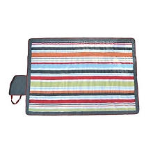 JJ Cole Outdoor Blanket Gray-Red