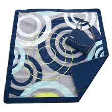 JJ Cole Outdoor Blanket Blue