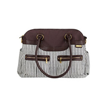 Tomy International JJ Cole Satchel Diaper Bag Dash Stripe