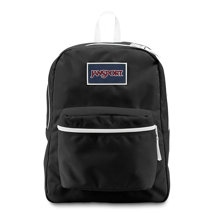8f8fdf730a6a Jansport Overexposed Backpack, Black/White. Tap to expand