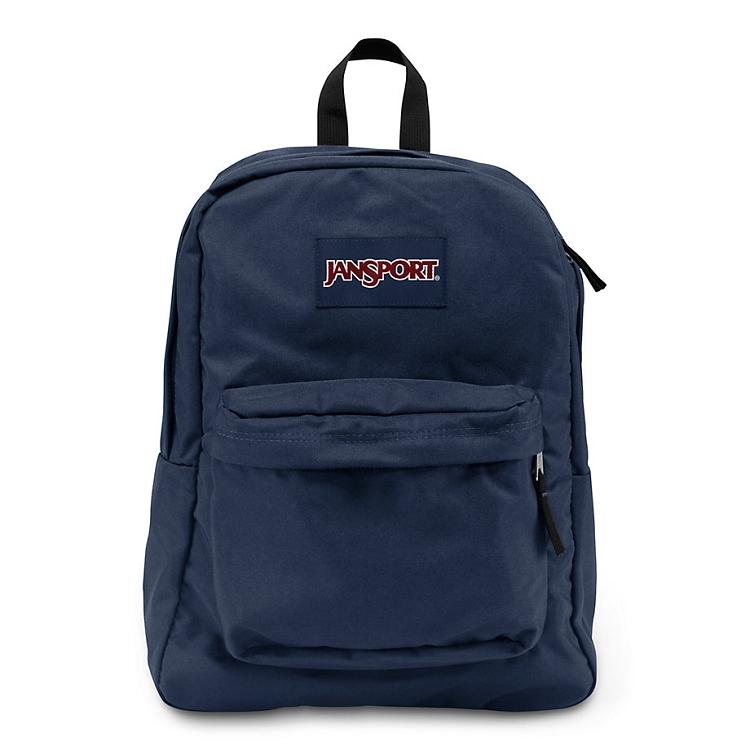 Jansport Superbreak Backpack Navy - Ideal Baby