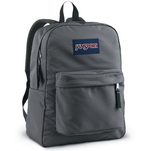 Jansport Superbreak Backpack Forge Grey - Ideal Baby
