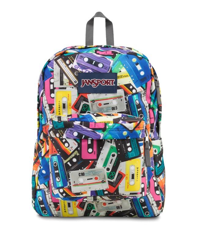 Jansport Superbreak Backpack Multi Mixtapes