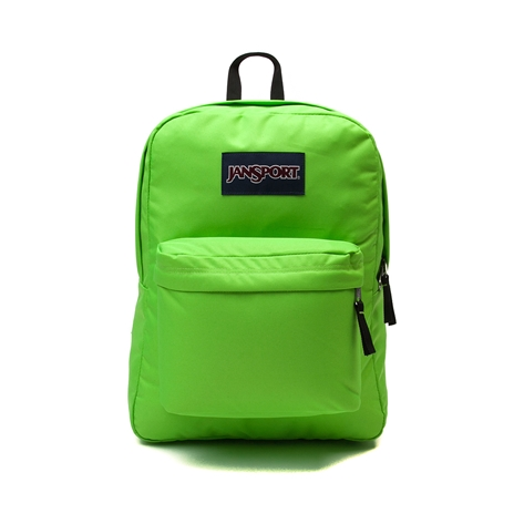Jansport Superbreak Backpack Zap Green Ideal Baby