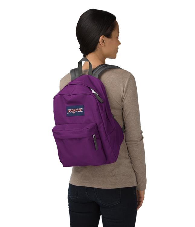 Jansport Spring Break Backpack, Vivid Purple - Ideal Baby