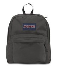 Jansport Spring Break Backpack, Forge Grey