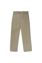 French Toast 50% Off School Uniform Double Knee Pant Boy, Khaki