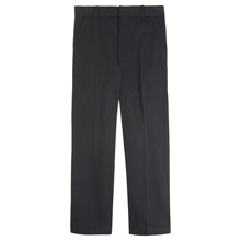 French Toast 60% Off Only $5.99 Boy's Adjustable Waist Double Knee Pant, Black