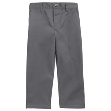 French Toast 60% Off Only $5.99 Toddler Boy's Pull On Pants, Gray