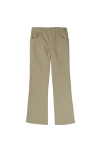 French Toast 50% School Uniform Girl Pull on Pants, Khaki