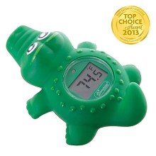 Dreambaby Room and Bath Thermometer Crocodile