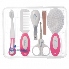 Dreambaby®  10 Pieces  Essentials Grooming Kit, Pink