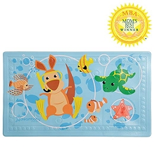 Dreambaby® Watch-Your-Step® Anti-Slip Bath Mat with