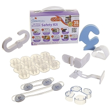 Dream Baby Safety Kit, No Screws, No Tools 35 Pieces