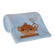 Bedtime Originals Mod Monkey Blanket