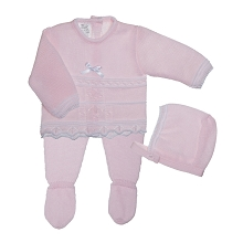 Lili Import Lolin Knitted Take Me Home Set 3-Pieces Newborn