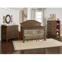 Dolce Babi Lucca Furniture Set in Weathered Brown