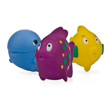 Nuby  Picture of Fun Fish Squirters - 3 pack