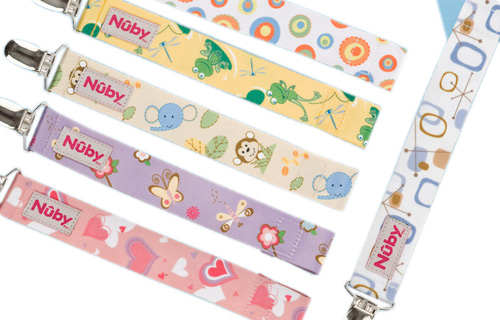 Nuby Pacifinder Pacifier Clip Ideal Baby