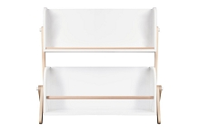 Babyletto Tally Storage and Bookshelf  in White and Washed Natural