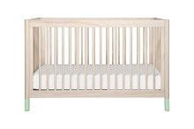 Babyletto Geltato 4-in-1 Convertible Crib White Color Feet  with Toddler Rail Included