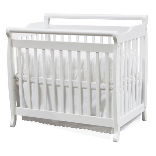Million Dollar Baby Mini Portable Crib Emily In White