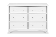 DaVinci Kalani 6 Drawer Double Wide Dresser