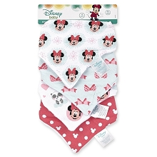 Baby King Minnie Bandanna Bibs 4-Pack