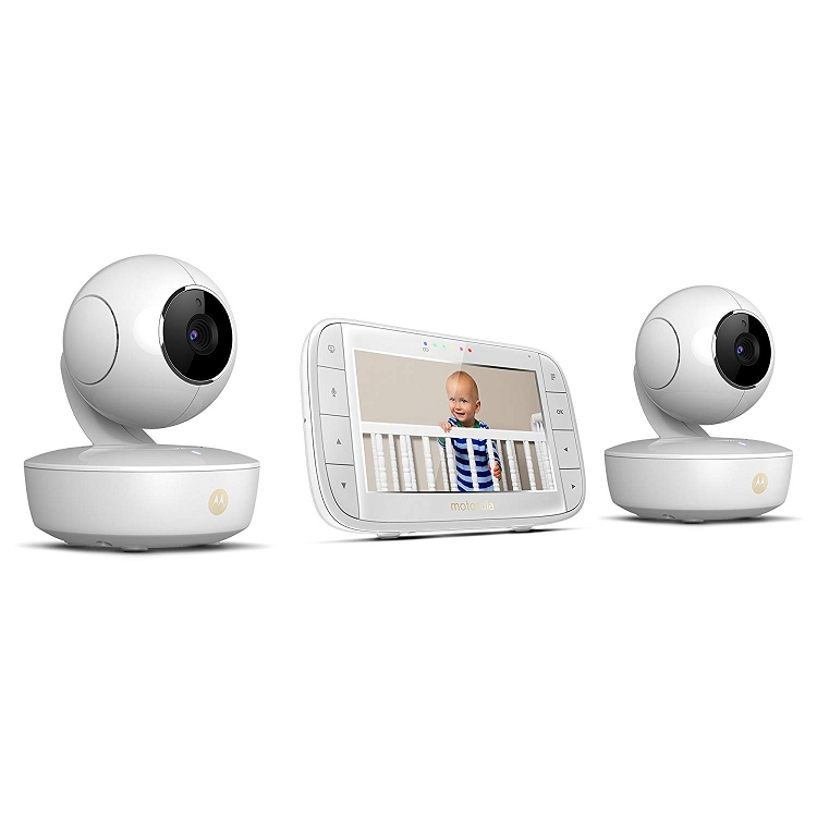 Motorola 5 Quot Portable Video Baby Monitor With Two Cameras