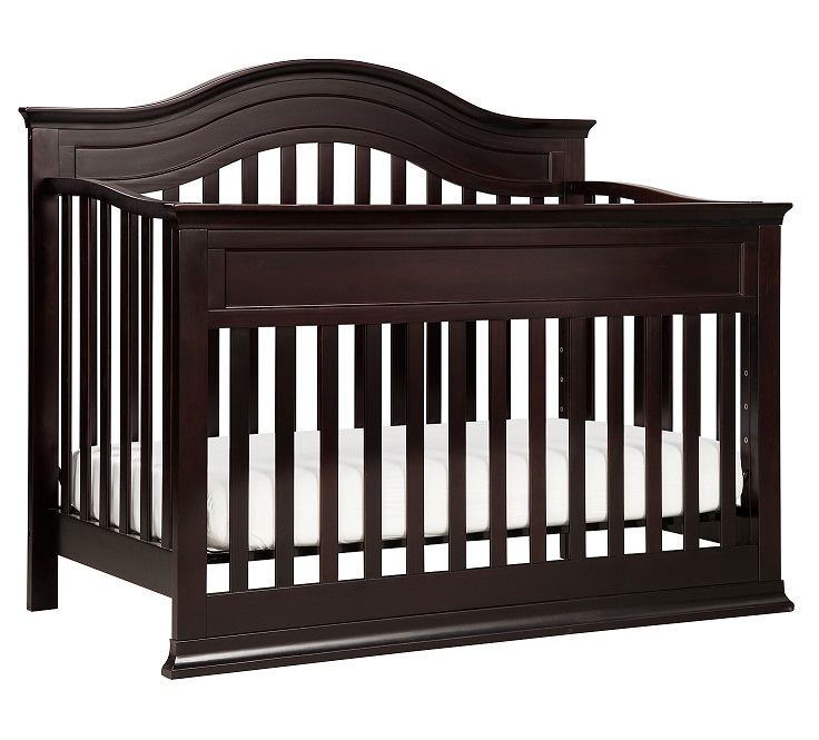 Toys R Us Crib To Toddler Bed.Davinci Brook 4 In 1 Convertible Crib With Toddler Bed Conversion Kit Dark