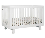 Babyletto Hudson 3 in 1 Convertible Crib in White