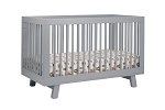 Babyletto Hudson 3 in 1 Convertible Crib in Grey