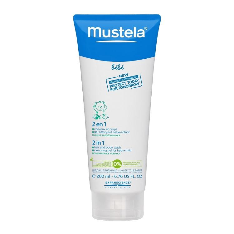 Mustela 2 In 1 Hair Body Wash 6 7 Fl Oz
