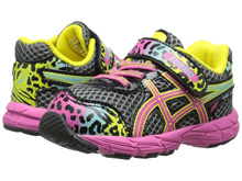 Asics 60% Off Turbo TS Running Shoes Charcoal/Rainbow/Cheetah