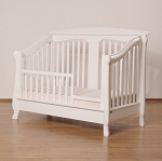 Romina Nerva Toddler Rail in White (ONLY)