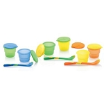 Nuby Storage Bowls with Feeding Spoon