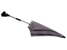 Peg Perego Parasol Weather Hood-Light Grey
