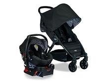 Britax Pathway & B-Safe 35 Travel System Sketch