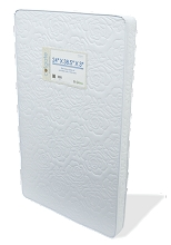 Colgate Portable Crib Mattress White 24 x 38.5 x 3
