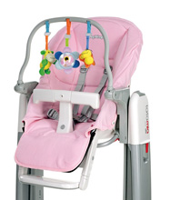 Peg Perego Cover for Highchair Tatamia Kit, Rosa