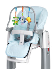 Peg Perego Cover for High Chair  Tatamia Kit, Azzurro