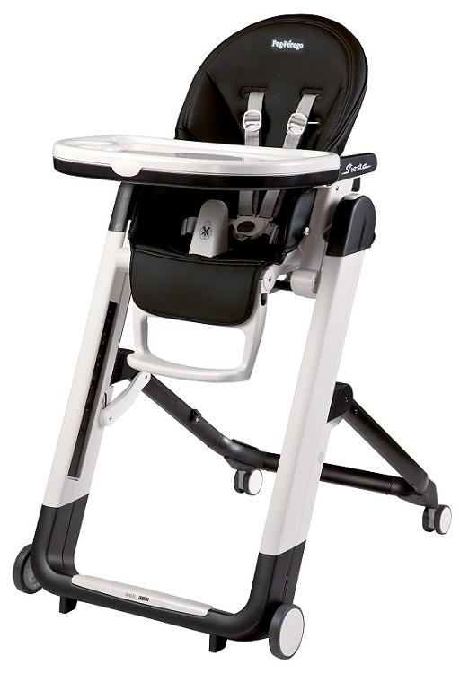 Fabulous Peg Perego Siesta High Chair Licorice Black Leather Dailytribune Chair Design For Home Dailytribuneorg