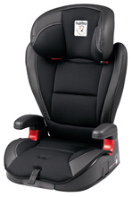 Peg Perego Primo Viaggio HBB 120 Booster Car Seat, Licorice - Black Leather