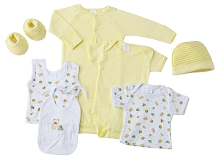 Baby Time Big Oshi 7 Pieces Layette Gift Set Yellow