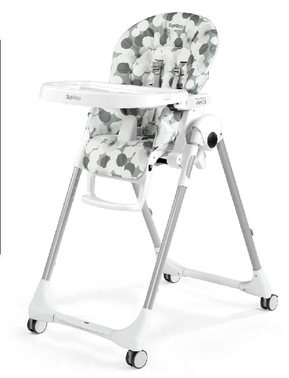 Peg Perego Prima Pa Zero 3 High Chair Nuvola Grey
