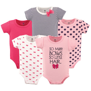 7edbf0490 Baby Vision So Many Bows Bodysuit 5-Pack - Ideal Baby
